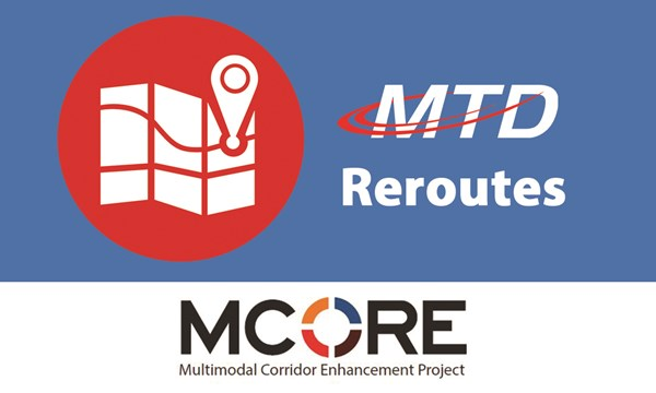 Preview of MCORE Project 4 In Full Swing March 26, with Important Changes to Your Route