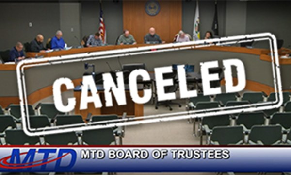 Preview of Board of Trustees March Meeting Canceled