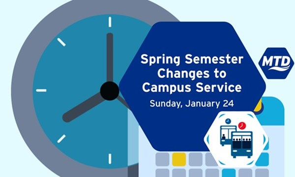 Preview of Spring Semester Brings Changes to Campus-Oriented Service | Sunday, January 24, 2021